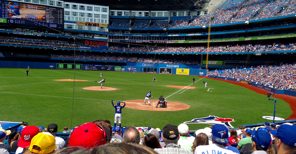 Mariners 2, Blue Jays 8: May 24, 2015: Runners at the Corners