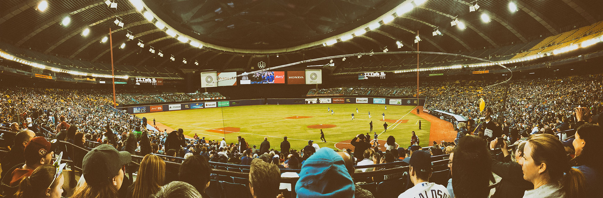 March 26th, Blue Jays baseball in Montreal